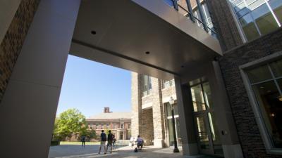 FCIEMAS walkway to Engineering Quad