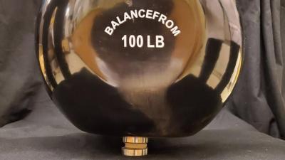 100-lb kettleball