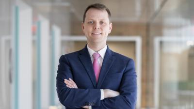 Jerome Lynch, incoming dean of Duke University's Pratt School of Engineering