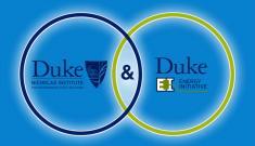 Overlapping circles containing Duke Nicholas Institute and Duke Energy Initiative logos